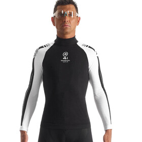 assos LS.skinFoil_Winter_Evo7 Baselayer Unisex Black Volkanga